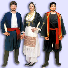 The Cretan Traditional Custumes